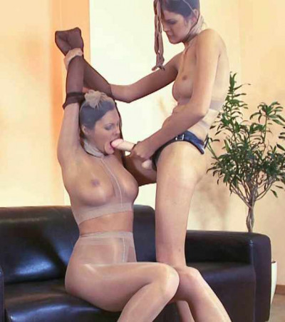 Punishment for hot doll
