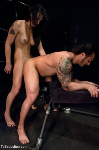 Brand New TS Talent Teighjiana debuts in Sex Club Confidential