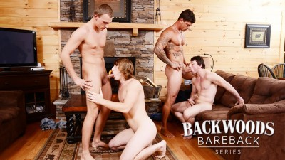 Backwoods Bareback Part 3 Tom Faulk, Bryce Rude, Sebastian Young, Scott Harbor (2015)