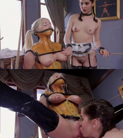 Bondage, domination and torture for very hot blonde part 2