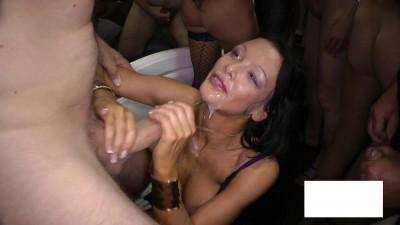 Slap cum on your beautiful breasts