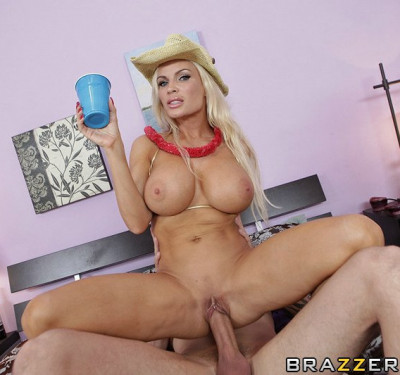 Description Sexy Blonde Milf At The Small Party