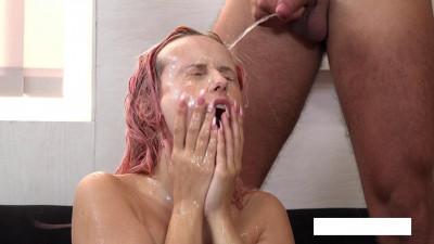 poured urine into the vagina