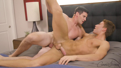Corbin Fisher – Travis Unloads On Patrick
