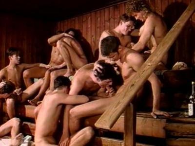 Retro Orgy At Blue Danube