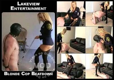 Blonde Cop Beatdown - LE1