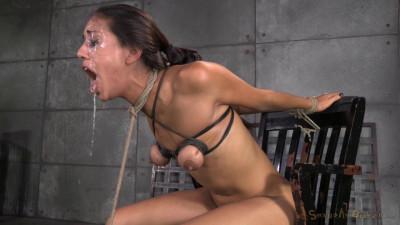 SexuallyBroken – Sep 24, 2014- Lyla Storm Brutally Bound In Strict Strappado