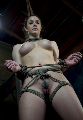 Chanel Preston helpless Brutally deep throated, severe rope bondage, fucked, made to cum hard