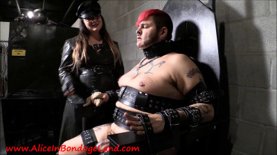 Bondage Chair Adventures – FemDom Chastity Blowjob CBT