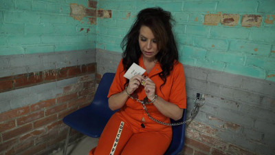 Gotcuffs - JJ Plush Transfered From Jail To Prison, Leg Ironed And Cuffed
