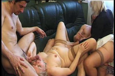 Older arranged threesome