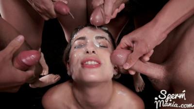 Kristen Scott - Sticky Bukkake Facial