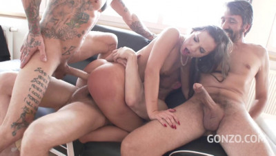 4on1 legend gangbang for beauty Kristy Black