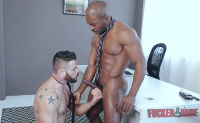 Interracial Fuck For Troy Moreno & Mario Domenech