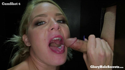 Lisey's First Gloryhole Video