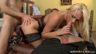 DP at the Euro Swinger Sex Party