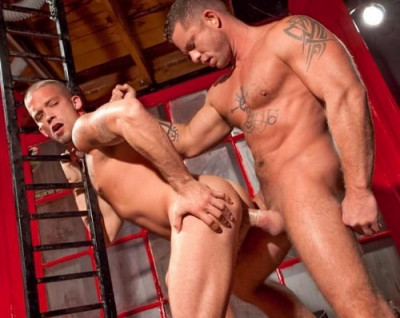 Charlie Harding and Caleb Colton