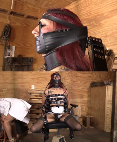 Hard bondage, torture and domination for young slut