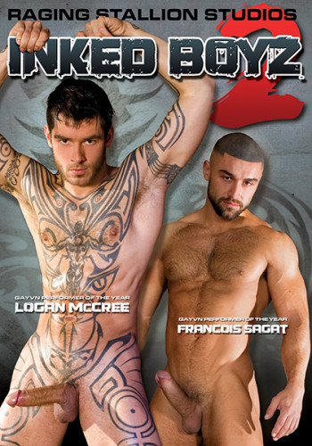 Description Inked Boyz Vol. 2 - Logan McCree, Francois Sagat, Steve Cruz