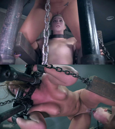 Tight bondage, domination and torture for two naked models