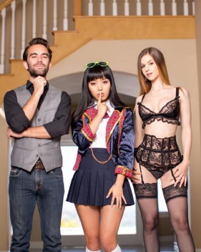 Marica Hase, Stella Cox, Logan Pierce - Exchange Student FullHD 1080p