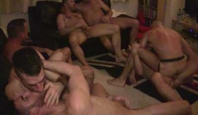 London's fuck-pigs orgy