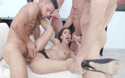 Gangbang Party With DP For Perfect Alina Crystal