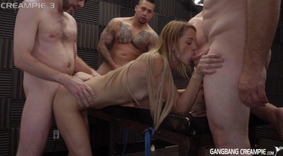 Creampie GangBang Party With Hillary