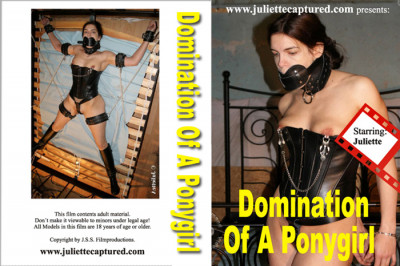 Domination Of A Ponygirl - Bound ponygirl