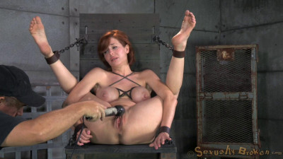 BDSM Redheaded  Veronica Avluv bound and fucked rough