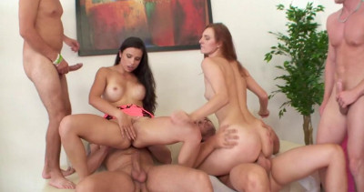 6on2 Gangbang Marathon With Best Anal Sluts