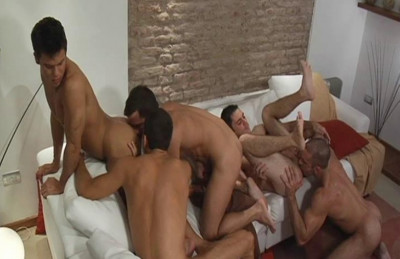 Gangbang Holidays With Muscle Fuckers