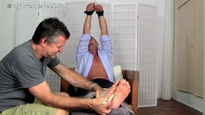 Ticklish Brenden Cage Tickle Tortured In The Tickling Chair