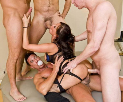Banned in Boston Rough Anal Gangbang Creampie