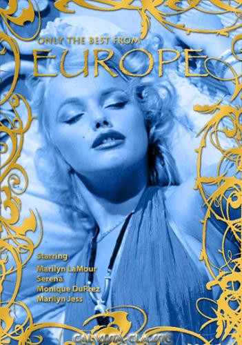 Description Only The Best From Europe (1989) - Marilyn Lamour, Serena