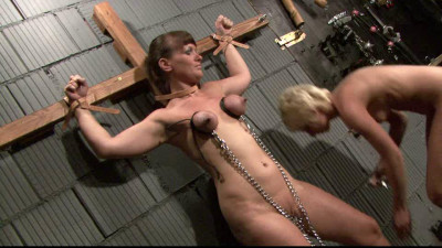 Breast Torture & More For Yvette In The Dungeon Part 2