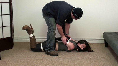 Tilly Heavy Steel Cuffs, Leather Gloves and Boots! Part One