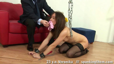 Office Spanking Humiliation (Veronika)
