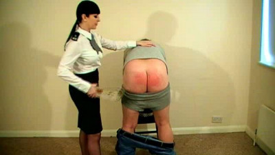 Miss Jessica And Hand Spanking part 1