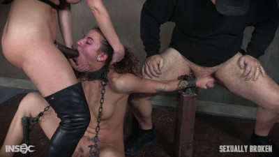 Dakota Marr suffers two intense scenes, brutal throat fucking, bondage and squirting orgasms! Part 1 (week, hole, great)!
