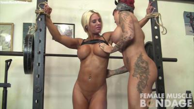 Dani Andrews and Megan Avalon - Lesbian Workout Part 1