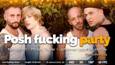 Virtual Real Gay — Posh fucking party (Android/iPhone)