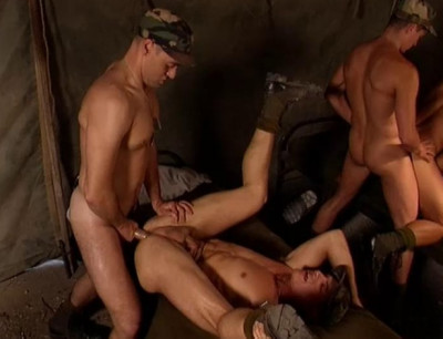 Outdoor military fucking