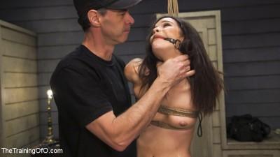 Bondage Slut Eden Sin Submits to Deep Anal Discipline Training