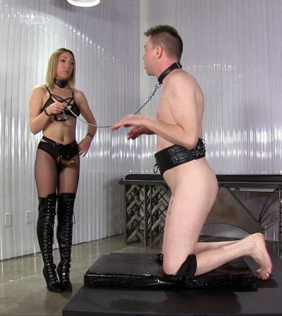 enjoy anal make strap (Ass Fucked Bitchboy)...