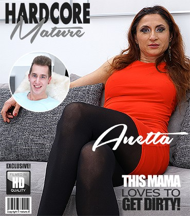 Anetta — Naughty housewife Anetta doing her toyboy FullHD 1080p