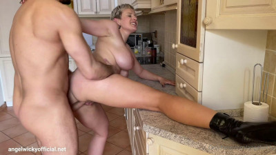 Angel Wicky – When a Bored Housewife Sees Window Cleaner