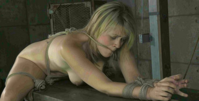 This Hot Blonde Wants To Be Bound