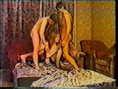 Russian retro 80's amator porno video