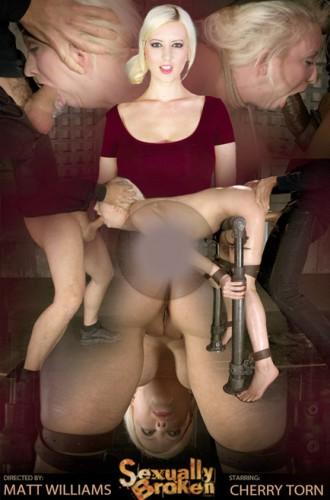 SexuallyBroken – Nov 21, 2014 – Sexy Cherry Torn Bent Over In Strict Device Bondage